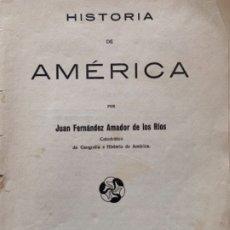 Libros antiguos: HISTORIA DE AMÉRICA. Lote 175414109