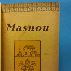 Libros antiguos: MASNOU 1928. PEDRO J. BASSEGODA Y MUSTÉ. EDICIONES Y PUBLICACIONES IBERIA. Lote 175487488
