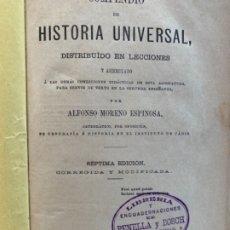 Libros antiguos: HISTORIA UNIVERSAL . Lote 175743140