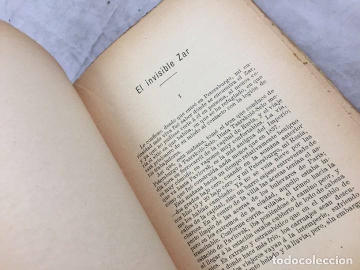 Libros antiguos: REBAÑO DE ALMAS El terror blanco en Rusia Luis Morote, Arte y Libertad Sempere Valencia - Foto 7 - 176604452