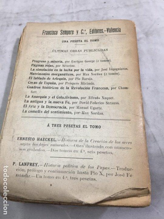 Libros antiguos: REBAÑO DE ALMAS El terror blanco en Rusia Luis Morote, Arte y Libertad Sempere Valencia - Foto 9 - 176604452