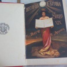 Libros antiguos: HISTORIA DE ESPAÑA EN EL SIGLO XIX. FRANCISCO PI Y MARGALL - F. PI Y ARSUAGA. TOMO I. AÑO 1902.. Lote 176666833