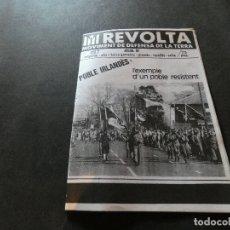 Libros antiguos: PUBLICACION REVOLTA DEL MDT MOVIMENT DEFENSA TERRA NUM 7 AÑOS 80. Lote 178228357