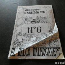 Libros antiguos: CATALOGO PUBLICACIONS INSTITUO JOAN BARDINA 1986 AMARILLEANDO EN ALGUNAS PARTES MUY RARO. Lote 178228571