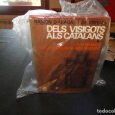 Libros antiguos: DOBLE TOMO RAMON D´ABADAL DELS VISIGOTS ALS CATALANS BRUTAL LIBRO DE HISTORIA. Lote 178229340