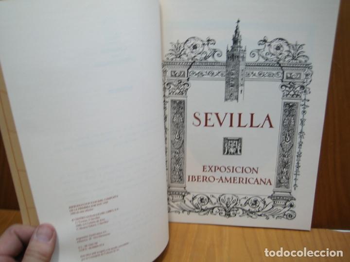 Libros antiguos: Exposición Ibero Americana de Sevilla - Foto 3 - 178396837