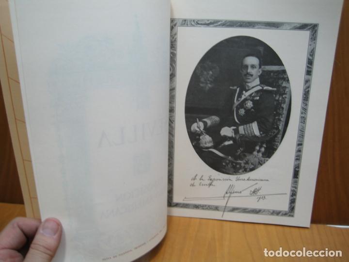 Libros antiguos: Exposición Ibero Americana de Sevilla - Foto 4 - 178396837
