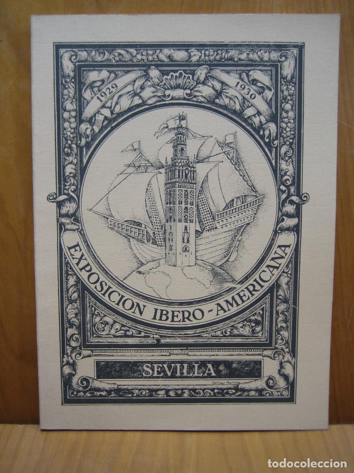 EXPOSICIÓN IBERO AMERICANA DE SEVILLA (Libros antiguos (hasta 1936), raros y curiosos - Historia Moderna)