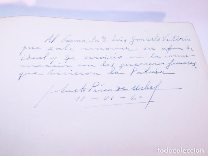 Libros antiguos: Historia del condado de Castilla. Fray Justo Pérez de Urbel. Firmado y dedicado. 3 tomos. 1944. - Foto 4 - 178907932