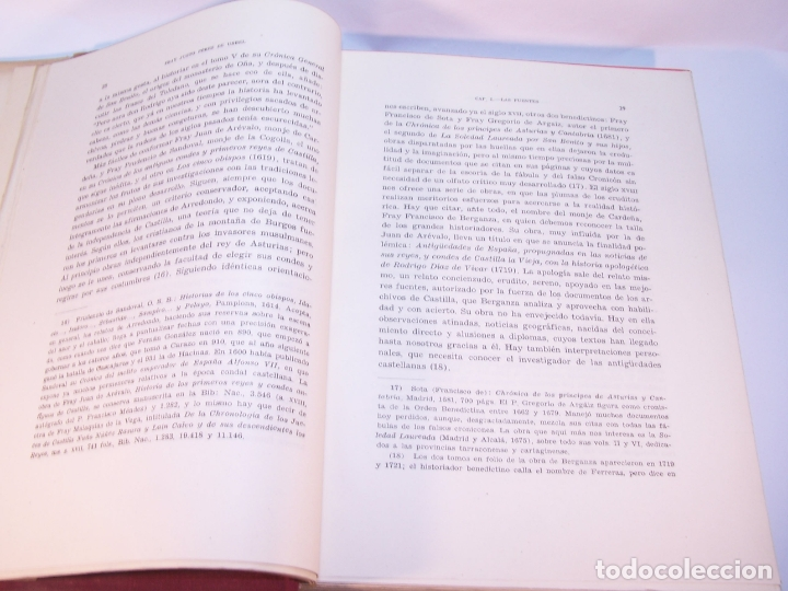 Libros antiguos: Historia del condado de Castilla. Fray Justo Pérez de Urbel. Firmado y dedicado. 3 tomos. 1944. - Foto 6 - 178907932