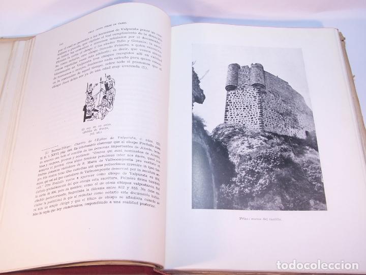 Libros antiguos: Historia del condado de Castilla. Fray Justo Pérez de Urbel. Firmado y dedicado. 3 tomos. 1944. - Foto 7 - 178907932