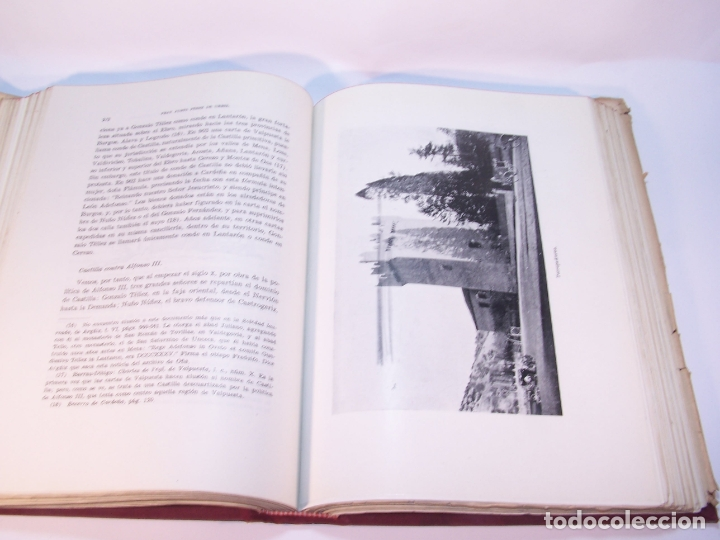 Libros antiguos: Historia del condado de Castilla. Fray Justo Pérez de Urbel. Firmado y dedicado. 3 tomos. 1944. - Foto 8 - 178907932