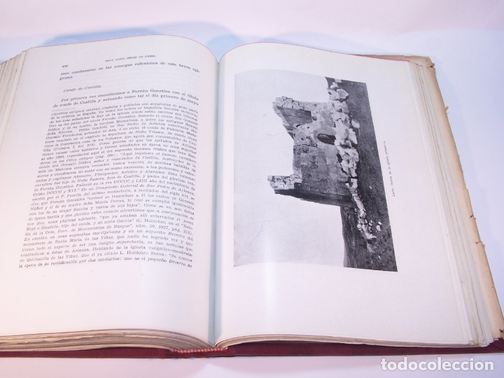 Libros antiguos: Historia del condado de Castilla. Fray Justo Pérez de Urbel. Firmado y dedicado. 3 tomos. 1944. - Foto 10 - 178907932