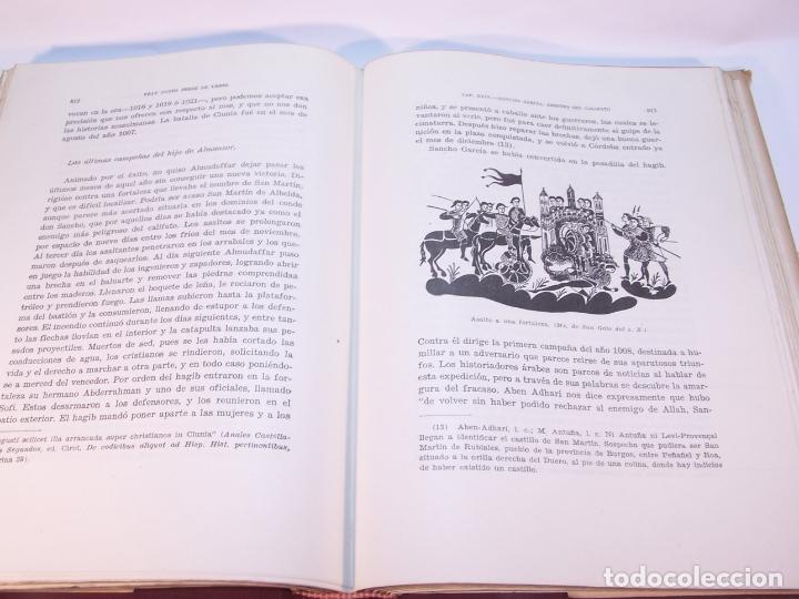 Libros antiguos: Historia del condado de Castilla. Fray Justo Pérez de Urbel. Firmado y dedicado. 3 tomos. 1944. - Foto 17 - 178907932