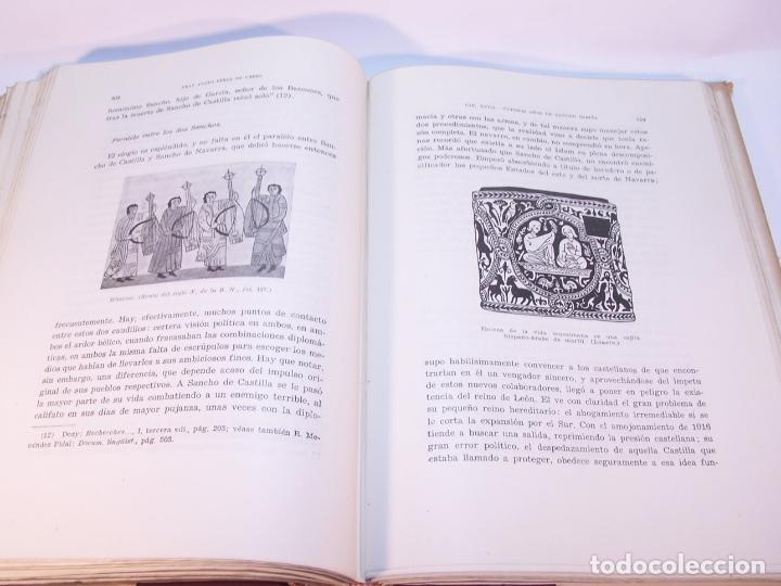 Libros antiguos: Historia del condado de Castilla. Fray Justo Pérez de Urbel. Firmado y dedicado. 3 tomos. 1944. - Foto 18 - 178907932