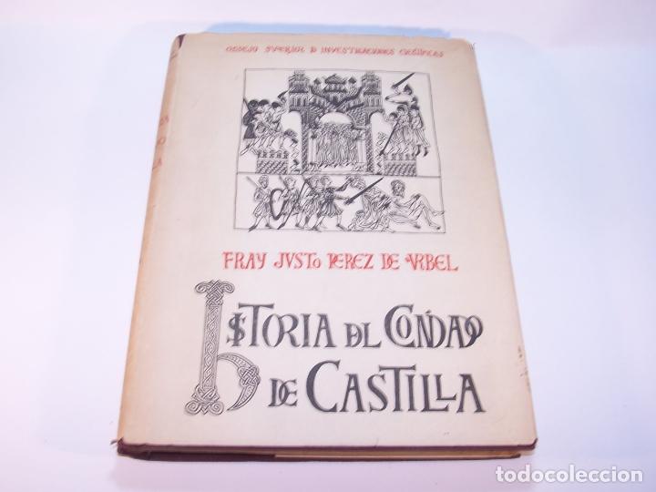Libros antiguos: Historia del condado de Castilla. Fray Justo Pérez de Urbel. Firmado y dedicado. 3 tomos. 1944. - Foto 21 - 178907932