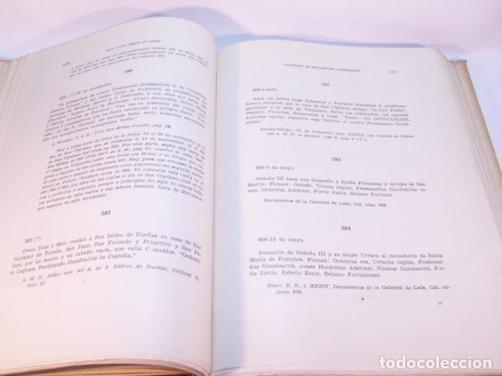 Libros antiguos: Historia del condado de Castilla. Fray Justo Pérez de Urbel. Firmado y dedicado. 3 tomos. 1944. - Foto 25 - 178907932