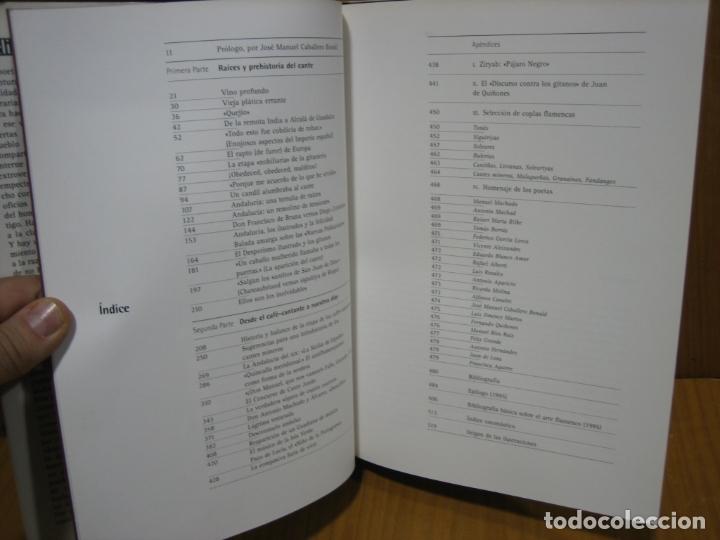 Libros antiguos: Memoria del Flamenco por Félix Grande - Foto 2 - 179547602