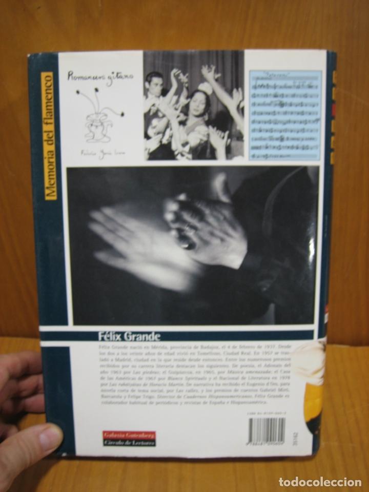 Libros antiguos: Memoria del Flamenco por Félix Grande - Foto 8 - 179547602