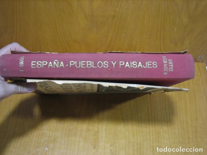 Libros antiguos: España pueblos y paisajes - Foto 11 - 179547676