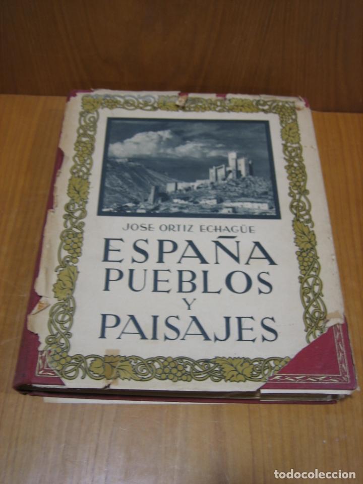 ESPAÑA PUEBLOS Y PAISAJES (Libros antiguos (hasta 1936), raros y curiosos - Historia Moderna)