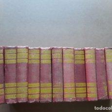 Livres anciens: EPISODIOS NACIONALES,BENITO PEREZ GALDOS,12 TOMOS. Lote 243056195
