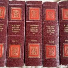 Libros antiguos: DICCIONARIO LARROUSE DE HISTORIA UNIVERSAL. Lote 180235616