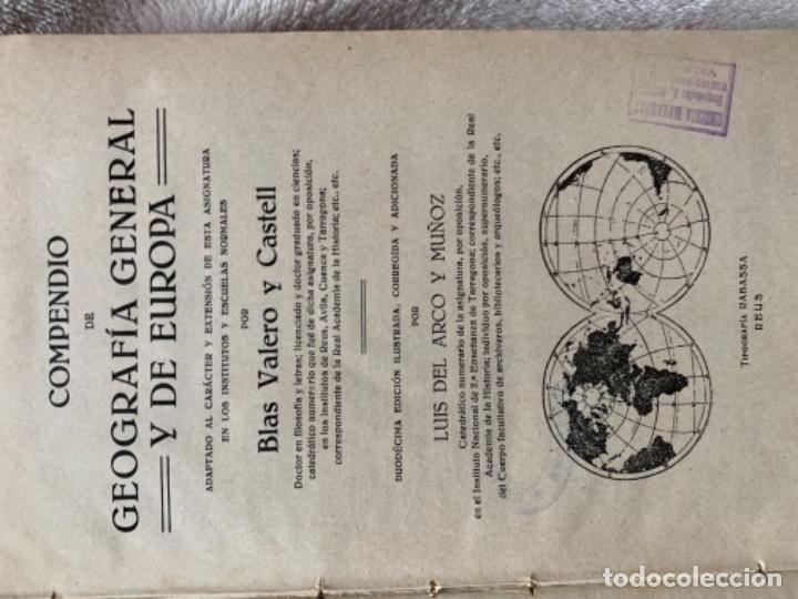 Libros antiguos: Geografía e Historia Universal - Foto 3 - 180240305