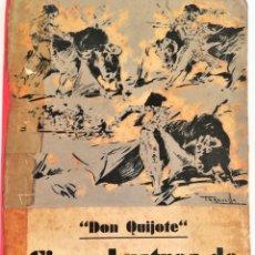 Libros antiguos: TAUROMAQUIA,LIBRO,CINCO LUSTROS DE TOREO,AÑO 1933.EPOCA REPUBLICA ESPAÑOLA,PORTADA JOAQUIM TERRUELLA. Lote 181207901