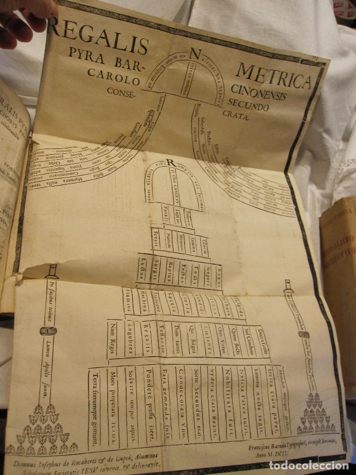 Libros antiguos: ROCABERTI, Joseph. CARLOS II. LAGRIMAS AMANTES DE LA EXCELENTISSIMA CIUDAD DE BARCELONA, 1701 - Foto 6 - 182082126