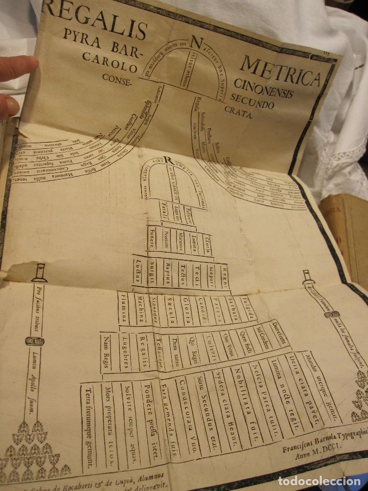 Libros antiguos: ROCABERTI, Joseph. CARLOS II. LAGRIMAS AMANTES DE LA EXCELENTISSIMA CIUDAD DE BARCELONA, 1701 - Foto 9 - 182082126