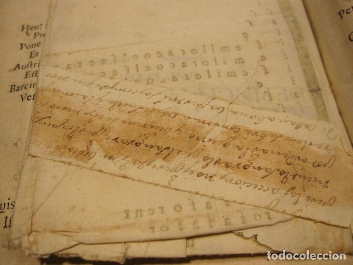 Libros antiguos: ROCABERTI, Joseph. CARLOS II. LAGRIMAS AMANTES DE LA EXCELENTISSIMA CIUDAD DE BARCELONA, 1701 - Foto 12 - 182082126