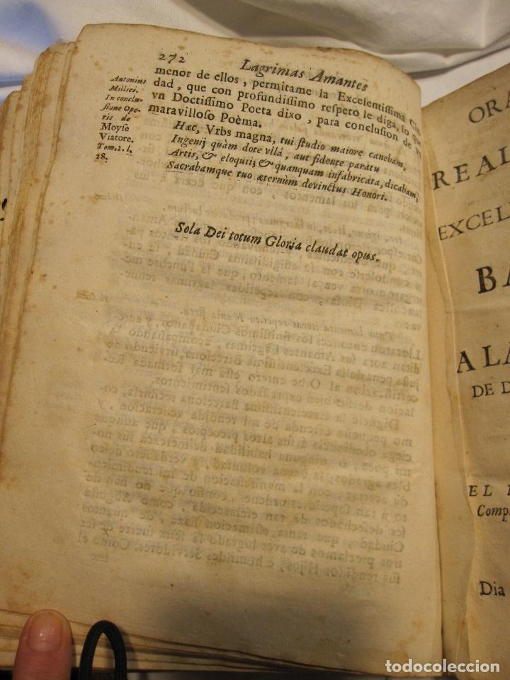 Libros antiguos: ROCABERTI, Joseph. CARLOS II. LAGRIMAS AMANTES DE LA EXCELENTISSIMA CIUDAD DE BARCELONA, 1701 - Foto 22 - 182082126