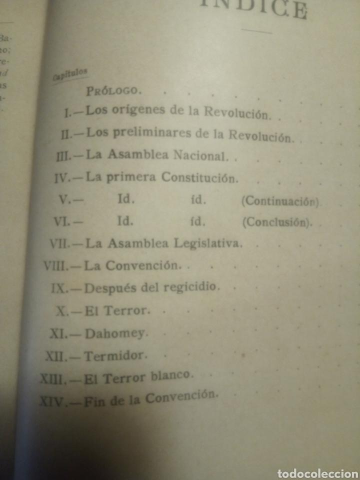 Libros antiguos: La Revolución Francesa, Alfredo Opiso - Foto 13 - 182680613