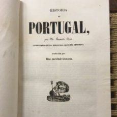 Libros antiguos: HISTORIA DE PORTUGAL, FERNANDO DENIS, 1845. Lote 183173930