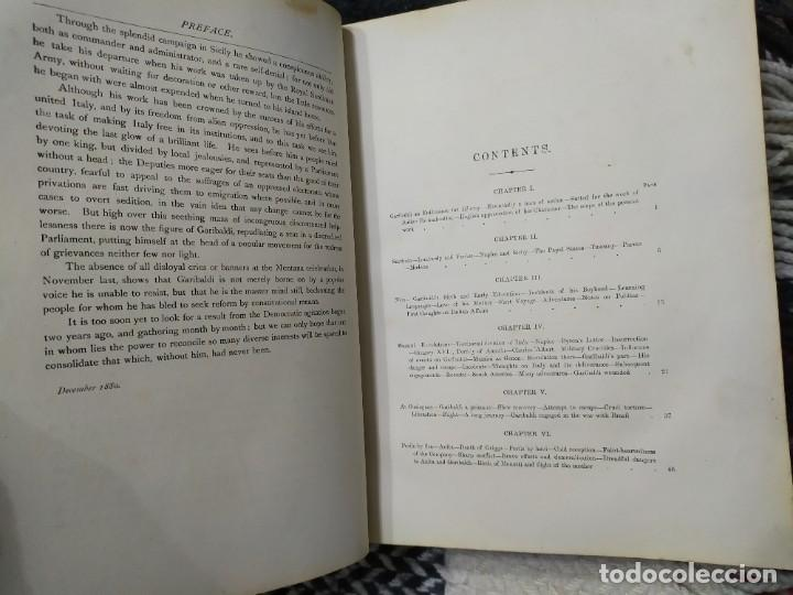 Libros antiguos: 1880. Historia de Garibaldi. Héroe y patriota italiano. - Foto 4 - 183630426
