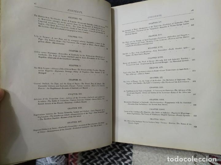 Libros antiguos: 1880. Historia de Garibaldi. Héroe y patriota italiano. - Foto 5 - 183630426