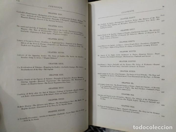 Libros antiguos: 1880. Historia de Garibaldi. Héroe y patriota italiano. - Foto 6 - 183630426