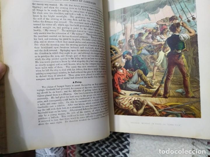 Libros antiguos: 1880. Historia de Garibaldi. Héroe y patriota italiano. - Foto 8 - 183630426