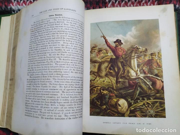 Libros antiguos: 1880. Historia de Garibaldi. Héroe y patriota italiano. - Foto 10 - 183630426