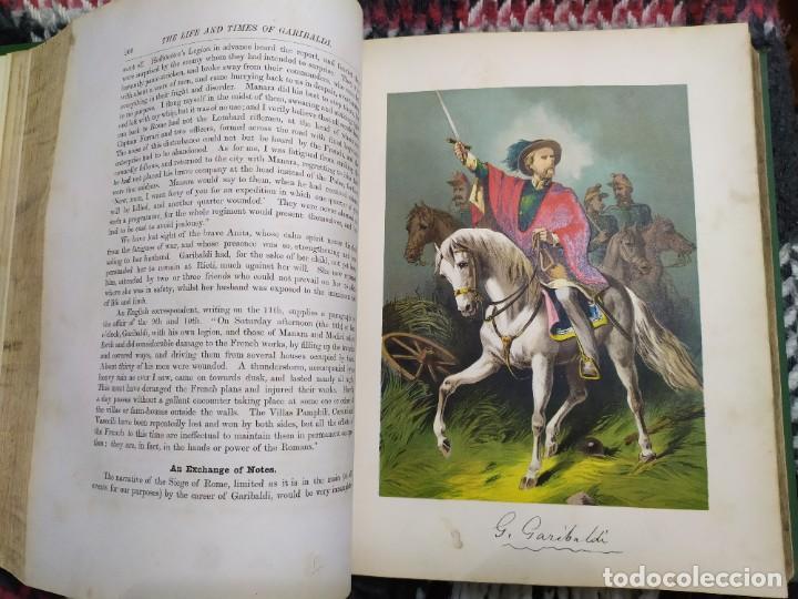 Libros antiguos: 1880. Historia de Garibaldi. Héroe y patriota italiano. - Foto 11 - 183630426