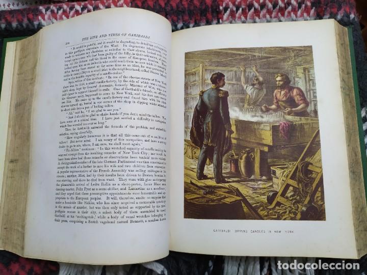 Libros antiguos: 1880. Historia de Garibaldi. Héroe y patriota italiano. - Foto 12 - 183630426