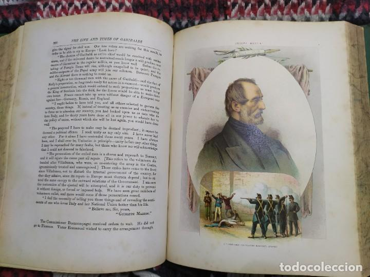 Libros antiguos: 1880. Historia de Garibaldi. Héroe y patriota italiano. - Foto 13 - 183630426