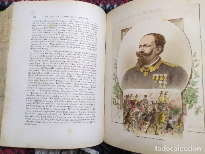 Libros antiguos: 1880. Historia de Garibaldi. Héroe y patriota italiano. - Foto 14 - 183630426