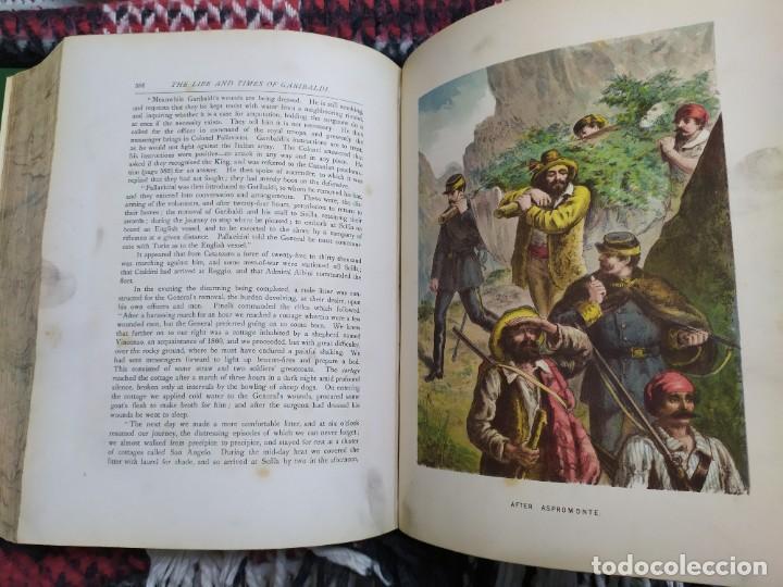 Libros antiguos: 1880. Historia de Garibaldi. Héroe y patriota italiano. - Foto 15 - 183630426
