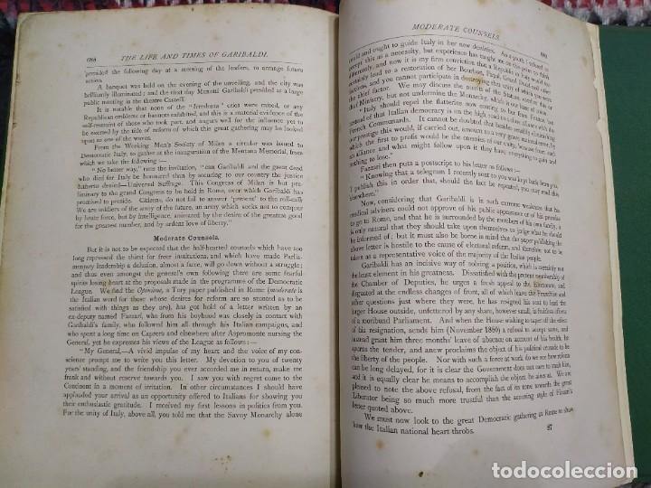 Libros antiguos: 1880. Historia de Garibaldi. Héroe y patriota italiano. - Foto 16 - 183630426