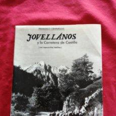 Libros antiguos: JOVELLANOS Y LA CARRETERA DE CASTILLA. FRANCISCO CIENFUEGOS.. Lote 183804713
