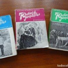 Libros antiguos: 70 AÑOS DE PERIODISMO, MARQUÉS DE VALDEIGLESIAS, 3 TOMOS. Lote 184168663