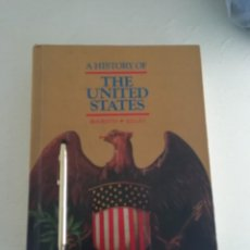 Libros antiguos: A HISTORY OF THE UNITED STATES. Lote 184185897