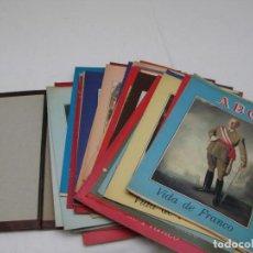 Libros antiguos: VIDA DE FRANCO- ABC- 51 FASCÍCULOS + TAPAS PARA ENCUADERNAR.. Lote 184259125